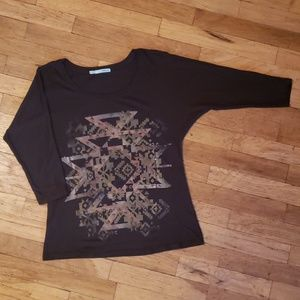Maurices fitted tribal dolman